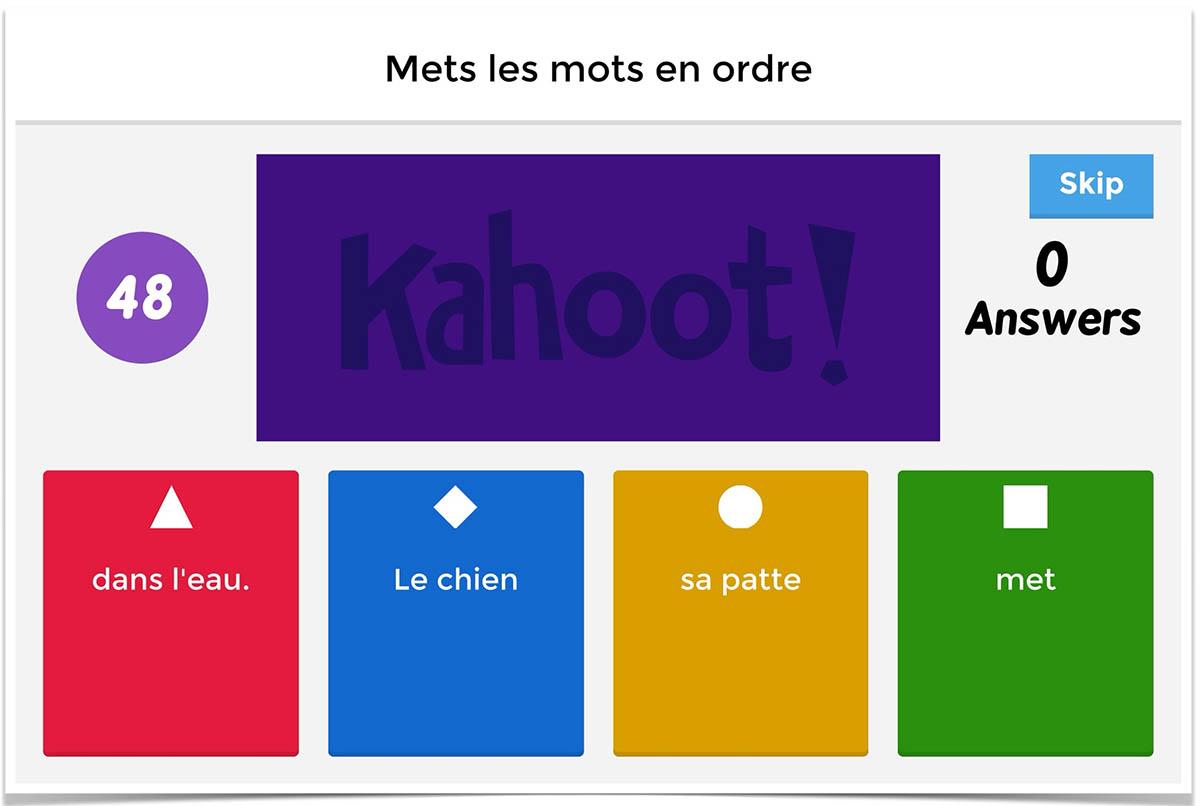 herramientas digitales formacion kahoot